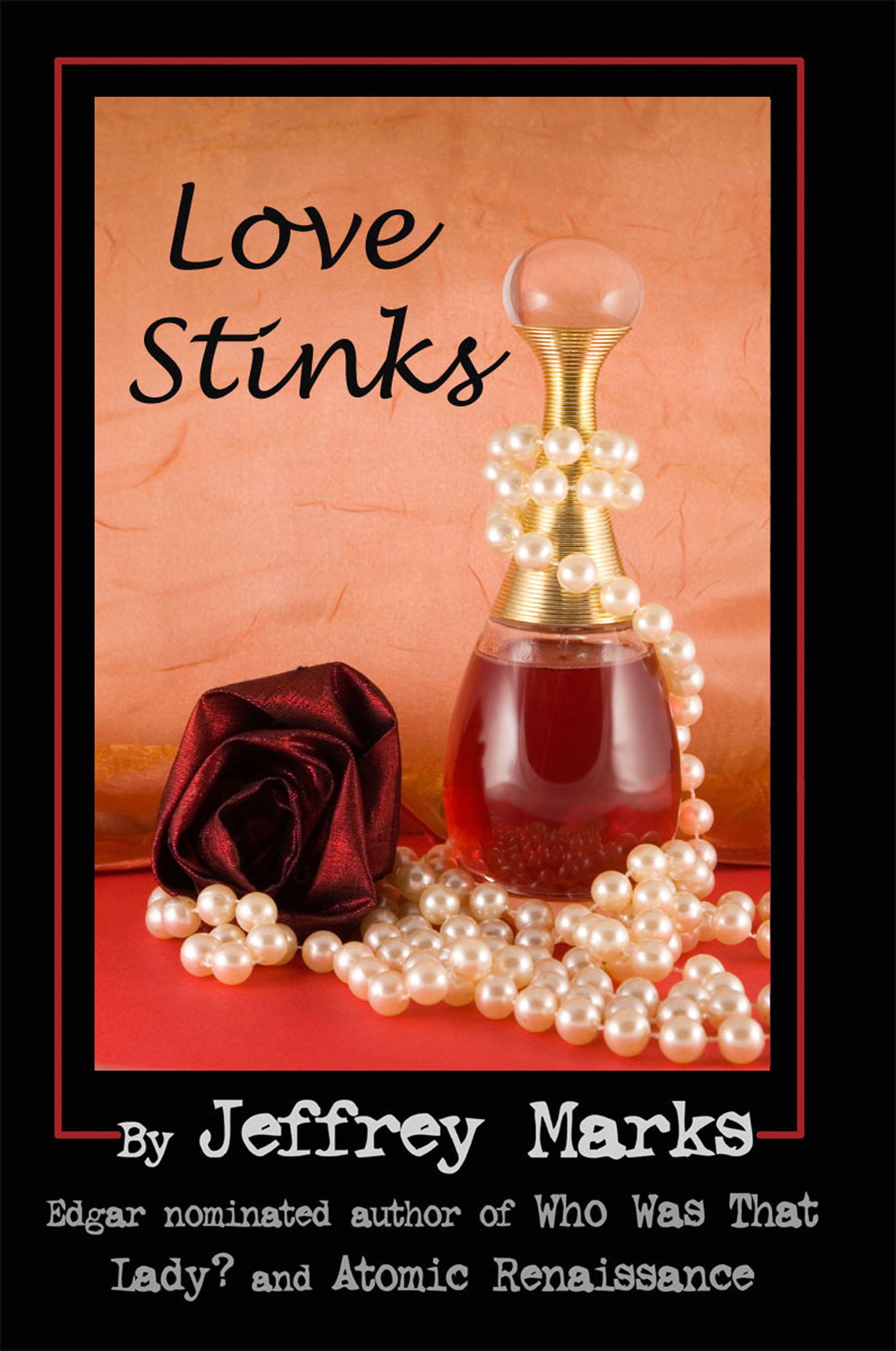 A prequel to The Scent of Murder, Love Stinks takes place during the Christmas rush where new fragrances bring back old crimes.